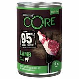 Wellness CORE Hund 95 Prozent Getreidefreies Nassfutter Lamm & Kürbis, 6 x 400 g