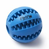 PetPäl Hundeball mit Zahnpflege-Funktion Noppen Hundespielzeug aus Naturkautschuk