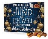printplanet Hunde-Adventskalender mit Leckerlis - Motiv Mir doch egal - Weihnachtskalender für Hunde