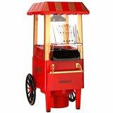 celexon CinePop CP500 Popcorn-Maschine - 24x19x39,5cm - Gewicht:1,7kg - Rot/Retro/Kirmes-Design- ohne Öl/fettarm - Popcorn-Maker