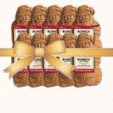 Bubeck | 10 x Weihnachtsmänner | Weihnachtsbundle | gebackener Hundesnack | Zahnpflege Leckerlie